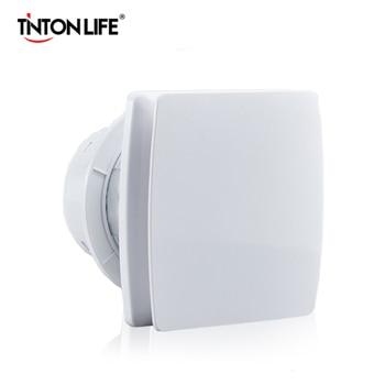 220В 4/6 дюймов вытяжной вентилятор для ванной комнаты, кухни, туалета, отеля, вентилятор без вилки, скрытое настенное окно, установка вентилят...