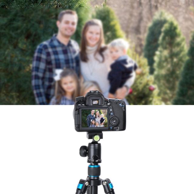 BEXIN Camera Travel Professional Photography Smartphone Fishing Tripod ball head Mini Tripod Holder for Phone Camera