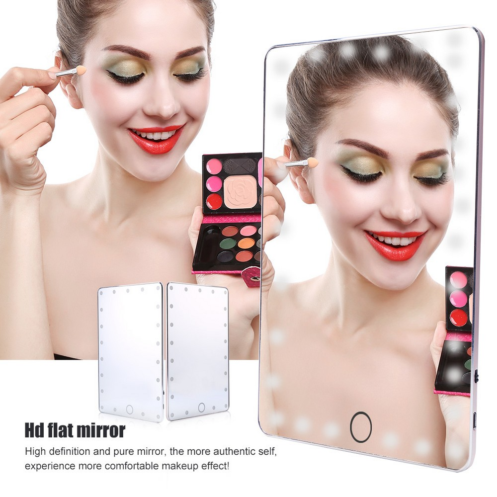 Portable Makeup Tools For Led Lighted Makeup Mirror Super