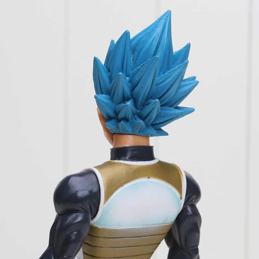 Аниме DRAGONBALL Dragon Ball Z рисунок воскресения F Супер Саян Вегета синие волосы ГОКу ПВХ Экшн фигурки DBZ игрушка