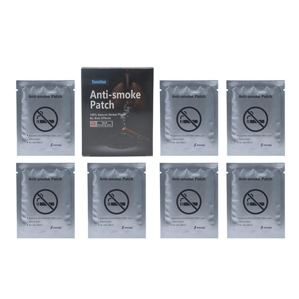 35pcs/lot Anti Smoke Stop 100% Natural Ingredient Smoking Patch for Smoking Cessation Patch Quit Smoking Patch Health Care 5