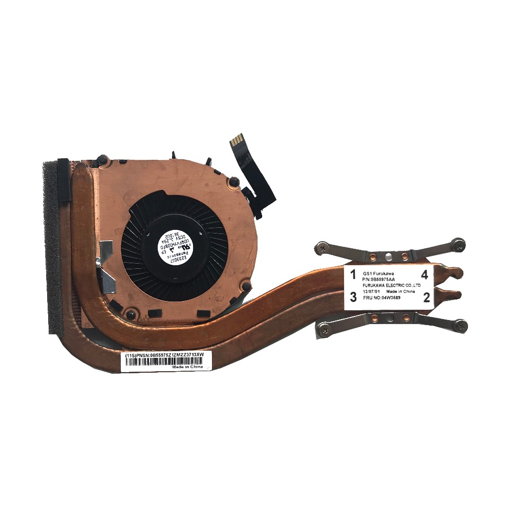 US $16 0 |New Original Cooling Fan For Lenovo ThinkPad X1 Carbon Cooler  Radiator 04W3589 Independent Cooing Fan-in Fans & Cooling from Computer &