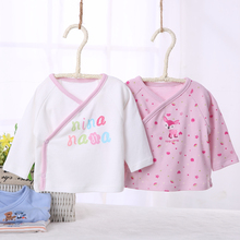 Newborn Baby Clothes Long Sleeves Front Opening