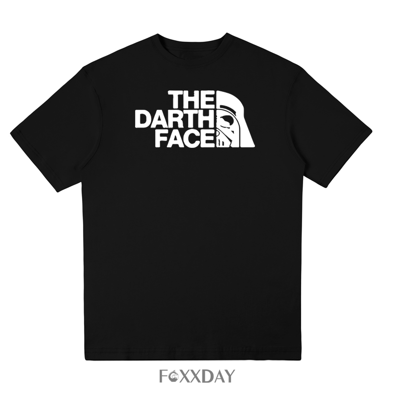 Hot Sale 2018 Summer New Fashion Men T-shirt Star Wars The Darth Face T shirt 100% Cotton High Quality Short Sleeve Tee Shirt