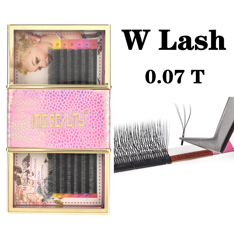 individual new w volume lash cilios vison extensao dos cilios flor blossom 3d camellia magnetic falso