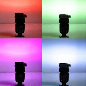 Image 4 - Gosear 12 PCS Transparent Color Gel Filter Light Film Sheet Filter Holder 12 Color for Studio Set top Box Flashlight 1.8 x 3inch