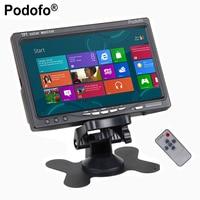 7 TFT Color LCD Headrest Car Parking Rear View Reverse Monitor 2 Video Input 2 AV