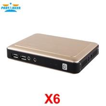 Teilhaftig Thin Client X6 Linux Embedded 1080 P RDP 8,0 Server OS Unterstützung Win7/8/Linux