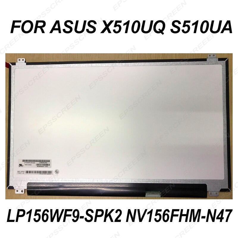 EDP 30PIN for ASUS X510UQ S510UA LAPTOP SCREEN LP156WF9 SPK2 NV156FHM N47 MATRIX LED LCD PANEL
