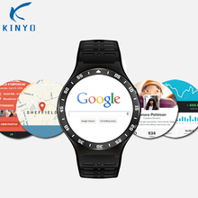 Wristwatch Smart Watch GSM 3G WCDMA Quad-Core Android 5.1 8G ROM SmartWatch GPS WiFi 5.0MP HD Camera Heart Rate Wearable Device