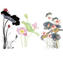 Buy 2019 New beautiful flower Iron On Patches Stickers Washable Appliques A-level Patch Heat Transfer For DIY Accessory Clothing directly from merchant!