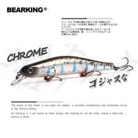 Bearking 11 cm 17g magneet gewicht systeem lange casting Nieuwe model vissen lokt harde aas duik 0.8-1.2 m kwaliteit wobblers minnow