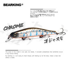 Bearking 11cm 17g magnet weight system long casting New model fishing lures hard bait dive 0.8-1.2m quality wobblers minnow (China)
