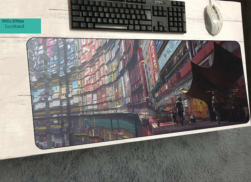 Detail Feedback Questions about cyberpunk mouse pad 900x400x2mm mats