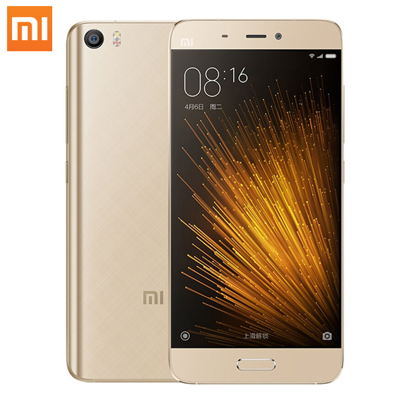 Original Xiaomi Mi5 smartphone Mi 5 Snapdragon 820 Quad Core 3GB RAM 32GB ROM 3000mAh Dual SIM Card Mobile Phones Smart Phone