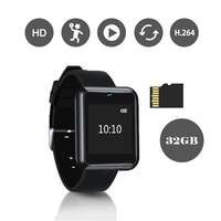 Mini Camera Watch HD 1080P Video Camcorder Portable Smart Touch Control Wristband Motion Detect Sensor Small Action DV Recorder