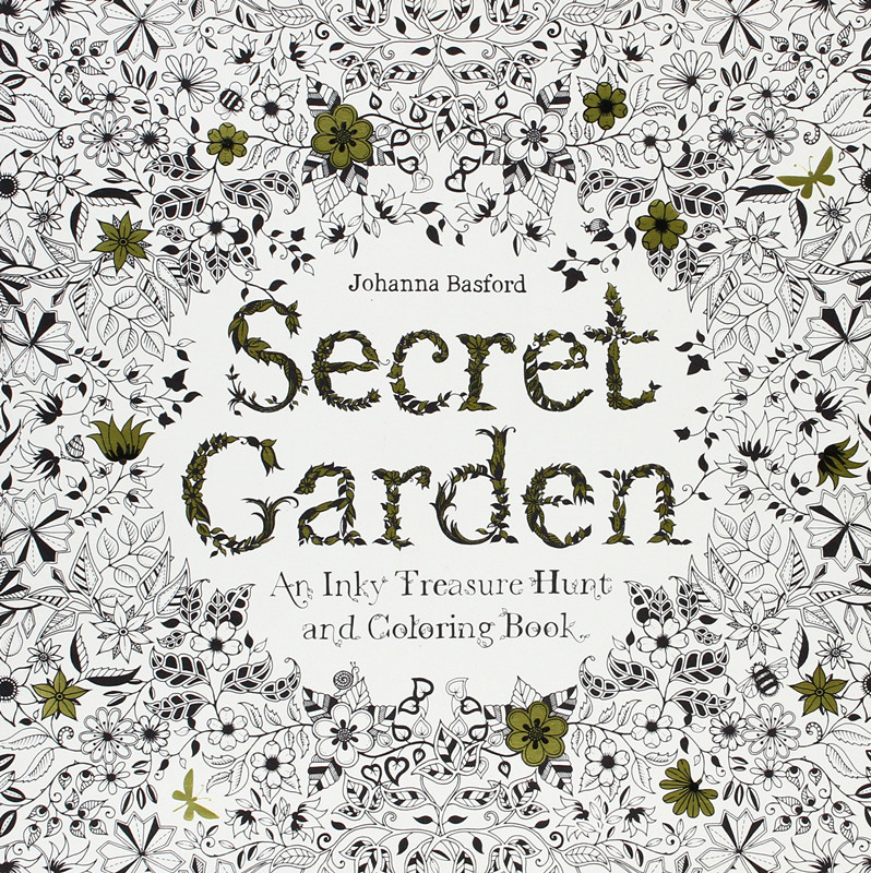 24 Pages Secret Garden Antistress Adult Coloring Books ...