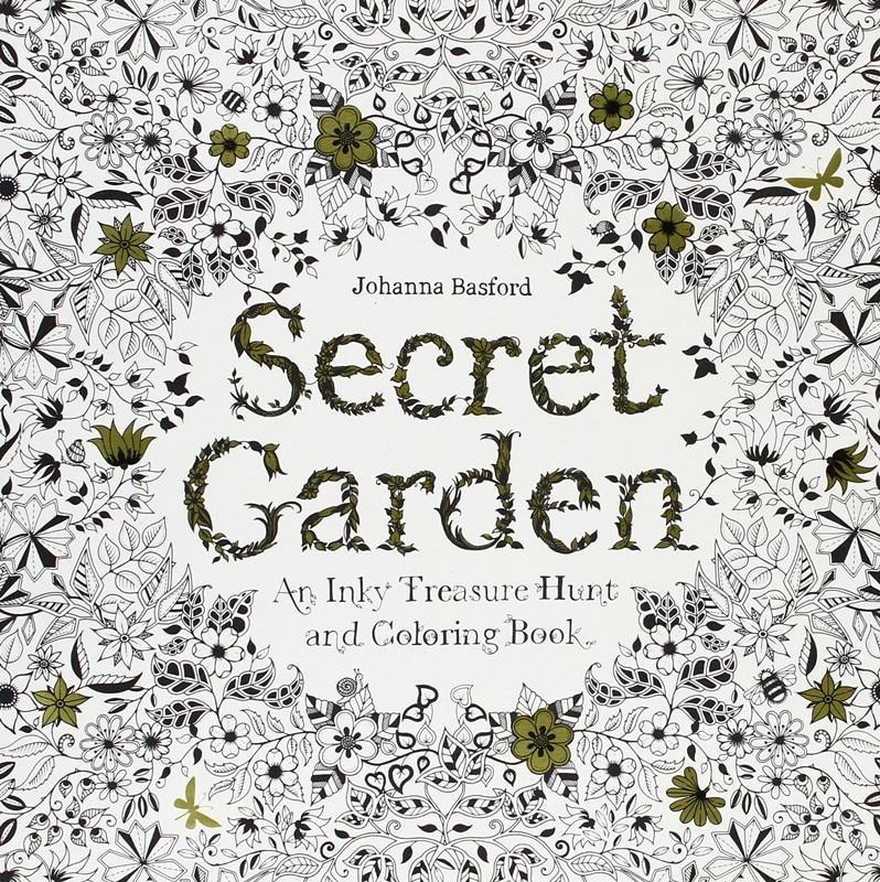 24 páginas Secret Garden Antistress libros para Colorear Adultos