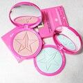New Make Up 5 Estrela Pele Geada Highlighter & Destacando Bronzer Pigmento ILUMINADOR Em Pó Paleta de Maquiagem