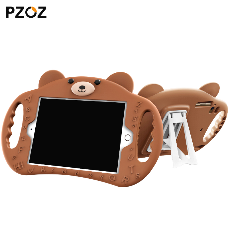 PZOZ For ipad 2 3 4 2018 2017 Air 1 2 Pro 9.7 mini 1 2 3 4 silicone Shockproof case Soft Non-toxic children for iPad Holder casePZOZ For ipad 2 3 4 2018 2017 Air 1 2 Pro 9.7 mini 1 2 3 4 silicone Shockproof case Soft Non-toxic children for iPad Holder case