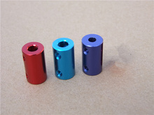 Diameter 14mm length 25mm red aqua blue black blue aluminum alloy coupler many size for motor shaft ship model diy coupling 1pcs