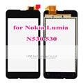 """1 шт. Черный TP для Nokia Lumia 530 N530 RM-1019 1017/4. 0 """"Сенсорный Экран Digitizer Стекло Замена ТП (Без LCD)"""