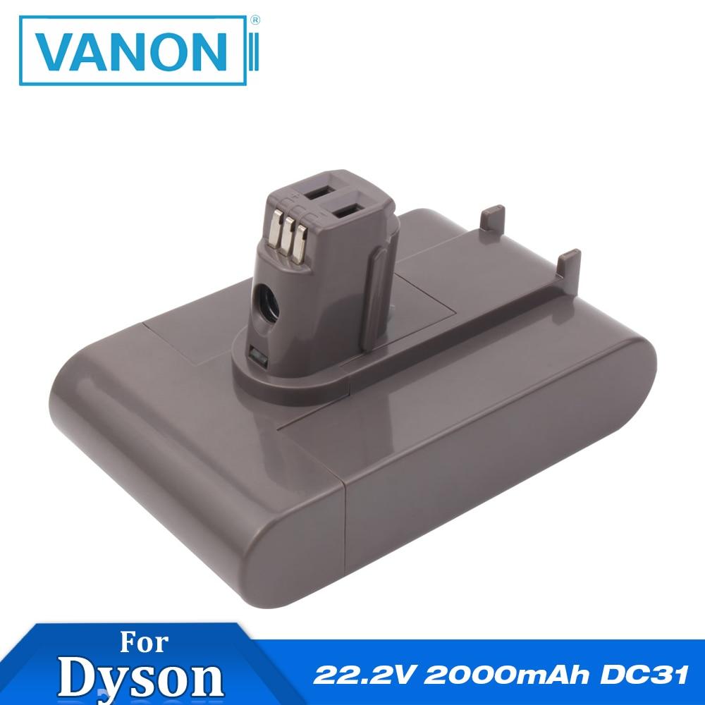 Vanon For Dyson 22 2v 2000mah Li Ion Rechargeable Battery