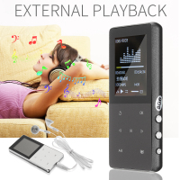 MP3 Player HiFi Lossless Music Player 1.8 Inch 8GB Recorder FM Radio Portable Listening Music Device for Elder Gift