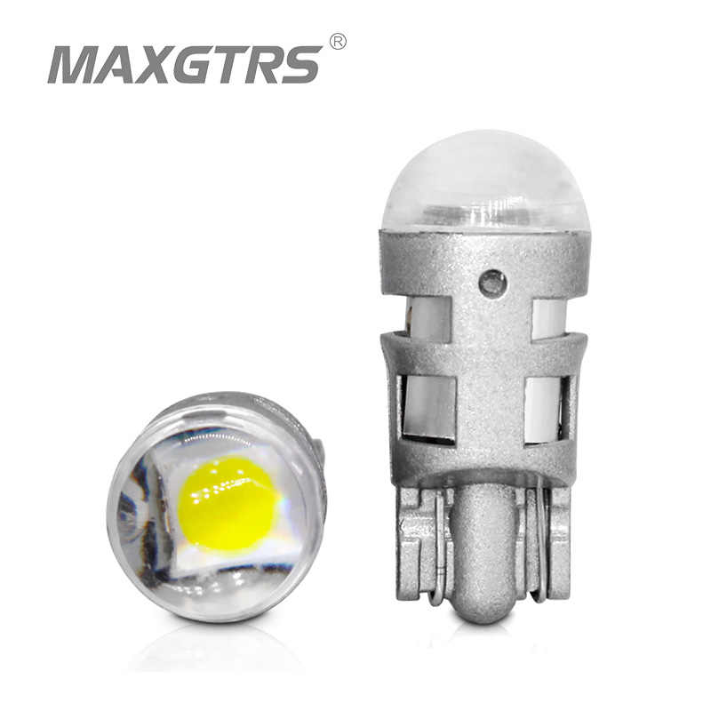 2x T10 168 194 2825 W5W LED For Cree Chip Led Replacement Bulbs Car License Plate Parking Lights Car Styling Car Light Source