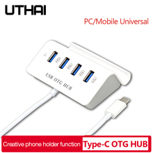 Adapter Interface Computer Macbook Usb-3.0/type-C 4-Usb3.0 To UTHAI for Pro J06 Hard-Drive-Accessory