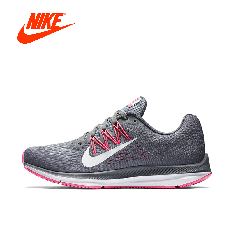 Original New Arrival Authentic NIKE ZOOM WINFLO5 Womens Running Shoes Sneakers Breathable Sport Outdoor Good Quality nike original new arrival womens running shoes breathable light stability high quality for women 844888 006 844888 101