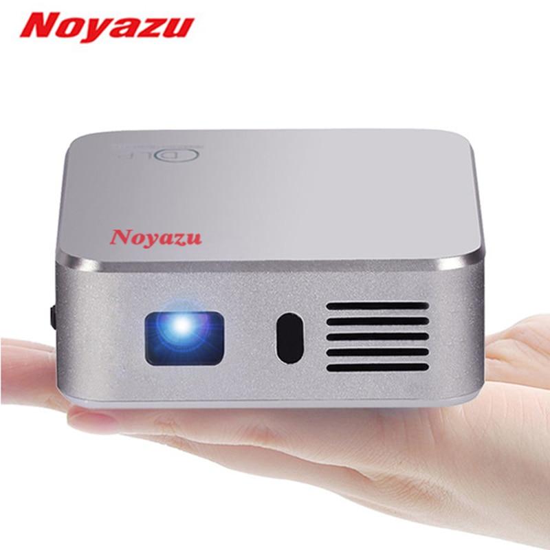 Noyazu HD 1080P 1500 Lumens <font><b>DLP</b></font> <font><b>Projector</b></font> Android4.4 WIFI 4000mAh Battery Bluetooth <font><b>LED</b></font> TV Beamer Home Theater Pocket <font><b>Projector</b></font>