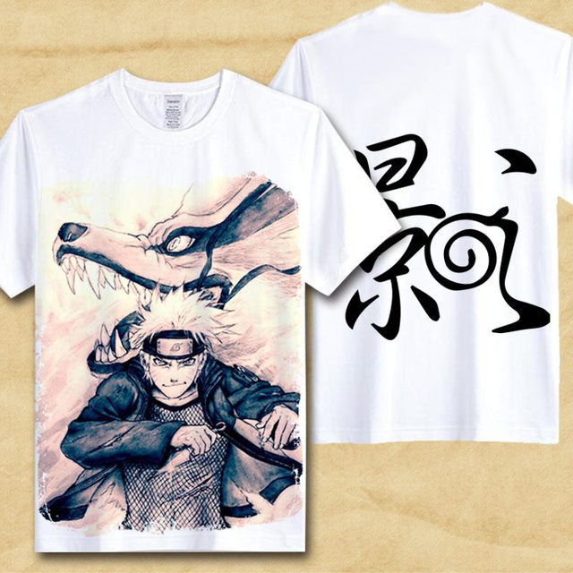 NARUTO THEMED T-SHIRT (19 VARIAN)