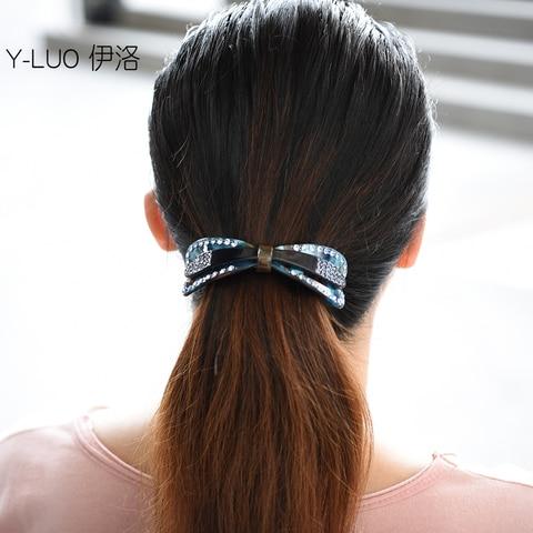 Presilhas de Cabelo Grampo de Cabelo para as Meninas do Vintage Acessórios para o Cabelo para as Mulheres Headwear Grande Strass Bonito Arco
