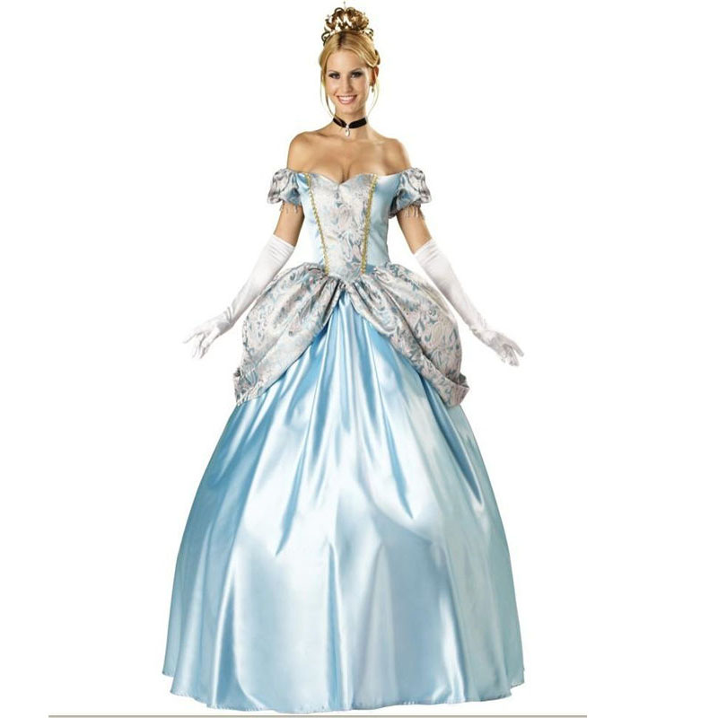 Original Princess Snow White Cinderella Dresses Costumes: Enchanting Princess Cinderella Costume Carnival Snow White