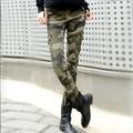 2016 мода камуфляж узкие джинсы женщина камуфляж джинсы тонкий плюс размер карандаш жан femme pantalones vaqueros mujer