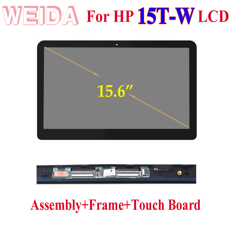 "HP Envy x360 15t 15t-w200 Touch Screen Glass digitizer Assembly 15.6/"" New Fast!!"