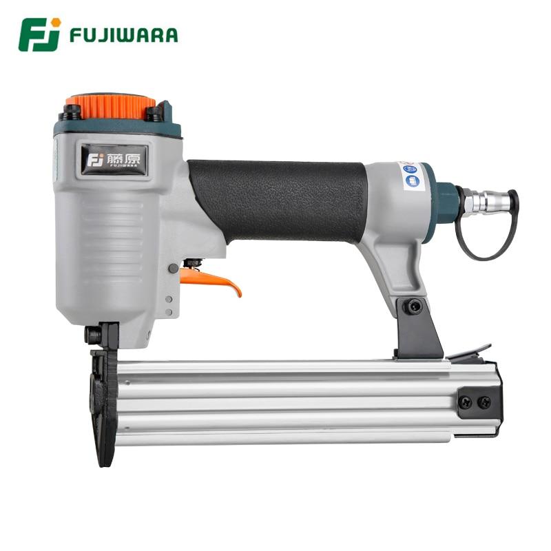 FUJIWARA F30 Pneumatic Nail Gun Air Stapler Home DIY, Home Decoration, F10-F30 Straight Nail