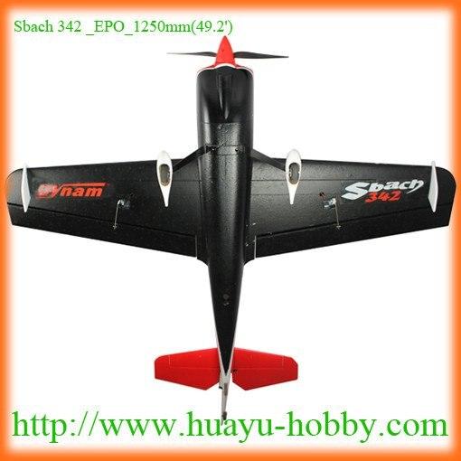 Dynam Sbach 342 EPO-1250 мм(49,2 ') 4ch 2,4G система RTF RC масштабная модель самолета