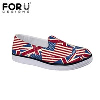 Fashion British Flag Slip On Shoes For Boys And Girls Design Artist Classics Shoes UK Flag