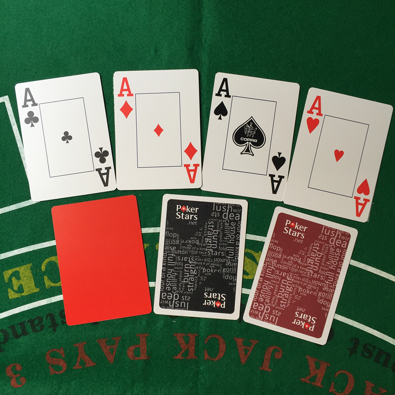 2Sets / Lot Baccarat Texas Hold'em Plastik Oyun Kartları Su - Əyləncələr - Fotoqrafiya 4