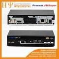 Genuine Freesat V8 Super DVB-S2 3G WiFi lan receptor de satélite iptv mgcamd Cccam newcam youtubo biss tecla de alimentação v u