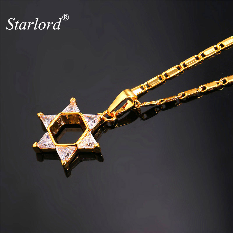 Starlord Magen Star Of David Pendant Necklaces