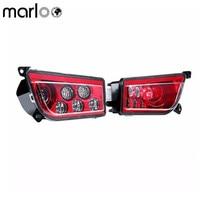 Marloo ATV аксессуары 2 шт. комплект красные, синие оранжевый rzr 1000 rzr1000 S светодиодные фары Conversion Kit Для Polaris