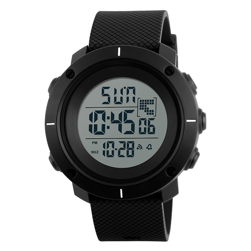 <font><b>SKMEI</b></font> Men's Army Military Outdoor Sports Digital Wristwatch Multifunction LED Display Waterproof Electronic Chronograph Watches image