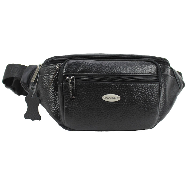 New Men Genuine Leather Vintage Travel Messenger Shoulder Sling Chest Hip Bum Belt Fanny Pack Waist Bag Purse