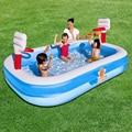 254*168*102 CM Alta qualidade cor do bebê piscina crianças brinquedos de recreação na água da piscina jardim