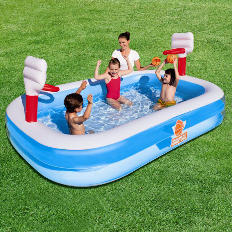 254 168 102cm High Quality Color Baby Swimming Pool Children Water Recreation Pool Garden Toys
