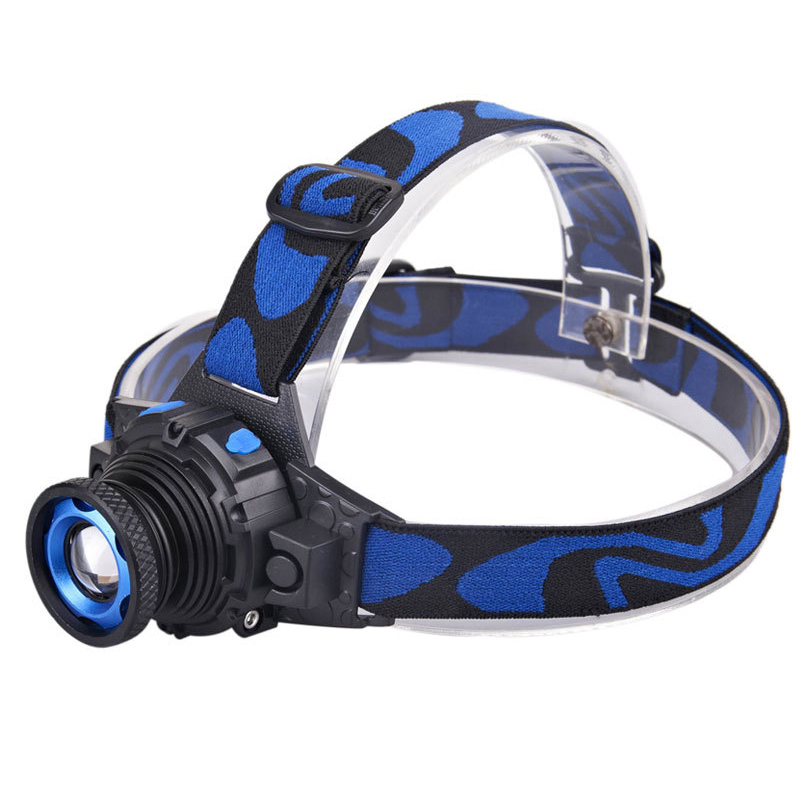 Headlamp Cree Q5 Waterproof LED Headlight 500lm Built In Lithium Battery Rechargeable Head Lamps 3 Modes Zoomable Torch Charger Headlamps From Lights