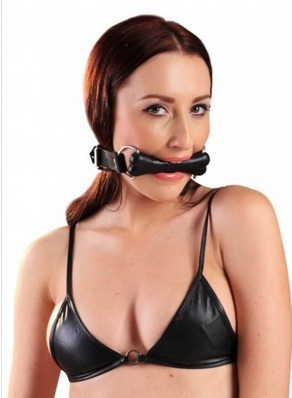 Pony fetish mouth gag for